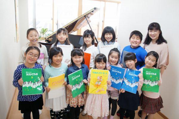 フェリーチェピアノ教室のレッスン