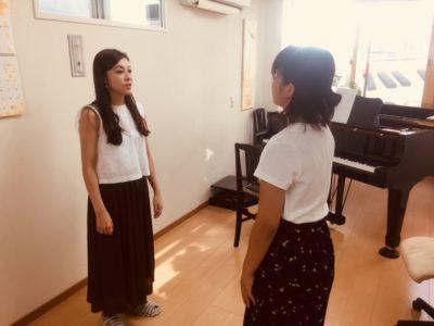 フェリーチェピアノ教室のボイストレーニング発生練習