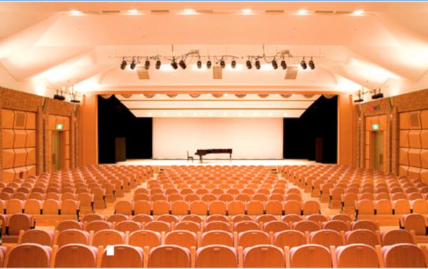 フェリーチェピアノ教室のピアノ発表会会場