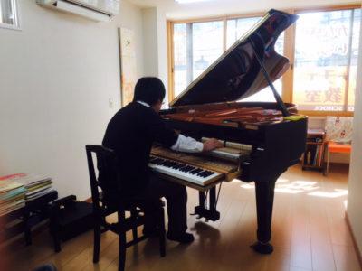 フェリーチェピアノ教室のピアノ