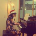ピアノ教室今年最後のイベントはクリスマス会