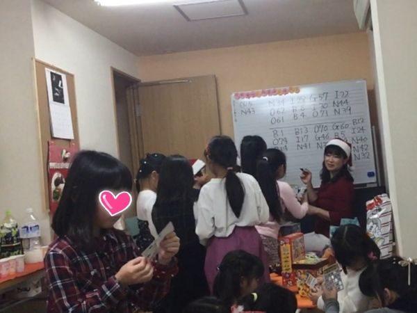 フェリーチェピアノ教室のクリスマス会