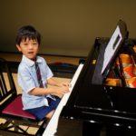 ピアノレッスンを始めて1年の5歳くん