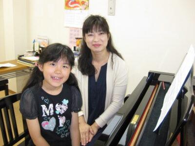 フェリーチェピアノ教室のピアノレッスン