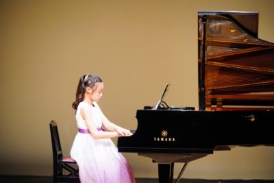 フェリーチェピアノ教室の発表会