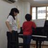 フェリーチェピアノ教室のレッスン風景
