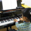 フェリーチェピアノ教室の6歳のピアノレッスン
